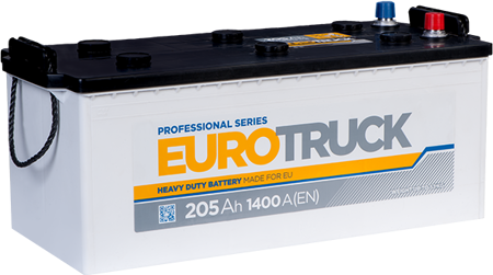 Зображення Аккумулятор EuroTruck 145 (левый плюс)