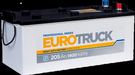 Изображение Аккумулятор EuroTruck 205 (левый плюс)