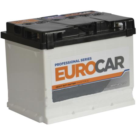Изображение Аккумулятор EuroCar 52 (правый плюс)