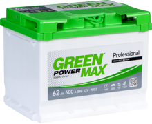Зображення Аккумулятор Green Power Max 52 (левый плюс)