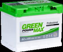 Изображение Аккумулятор Green Power Max 62 (левый плюс)