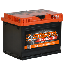 Зображення Аккумулятор Starta Strong 62 (правый плюс)