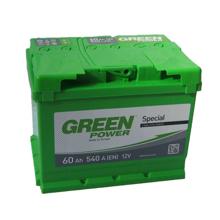 Изображение Аккумулятор Green Power 66 (правый плюс)
