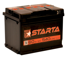 Зображення Аккумулятор Starta 6ст100 (правый плюс)