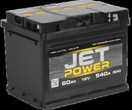 Изображение Аккумулятор Jet Power 6ст60 (левый плюс)