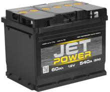 Изображение Аккумулятор Jet Power 6ст75 (левый плюс)
