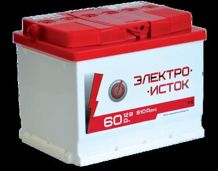 Изображение Аккумулятор Электроисток 60 (левый плюс)
