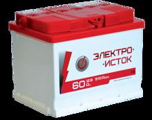 Изображение Аккумулятор Электроисток 60 (правый плюс)