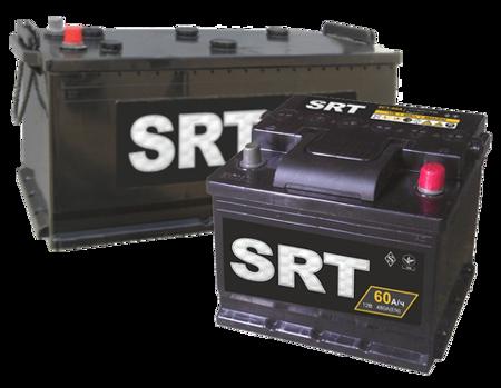 Зображення Аккумулятор SRT 190 (левый плюс) евробанка